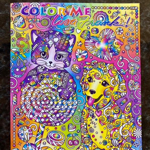 Lisa Frank Accessories Lisa Frank Adult Coloring Book Poshmark